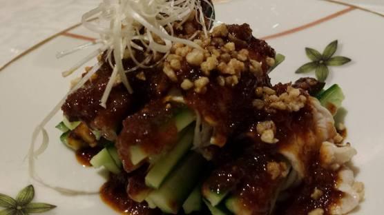garlic pork 蒜泥白肉