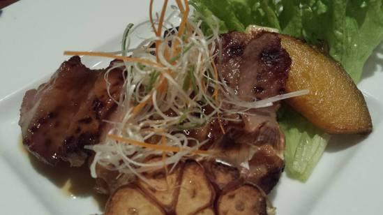 grilled spanish pork