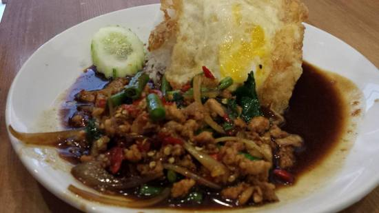 minced beef basil rice