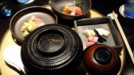 special eel set dinner