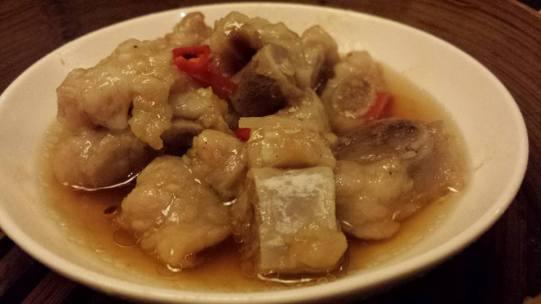 steamed pork ribs