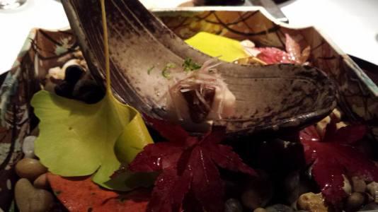 #1 pork wine infused foie gras terrine