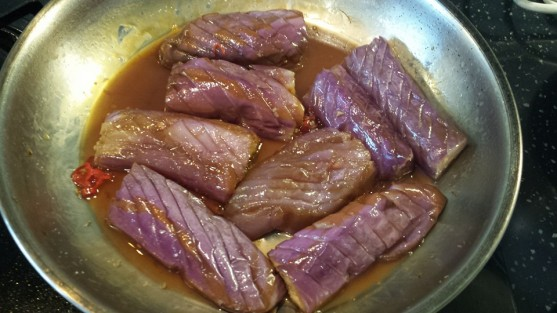 #5 wafu 和风 (japanese braised) eggplants - this dish was simply excellent!