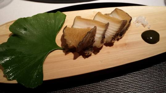 #6 awabi (really tender superb abalone)