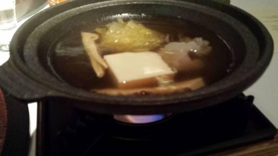 #8 hamo (conger pike eel) shabu shabu