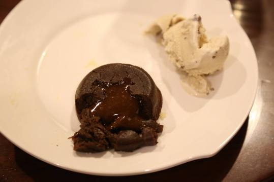 #6 my not so successful choc lava cake - not enough flowing lava