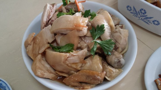 白斩鸡 chicken rice chicken