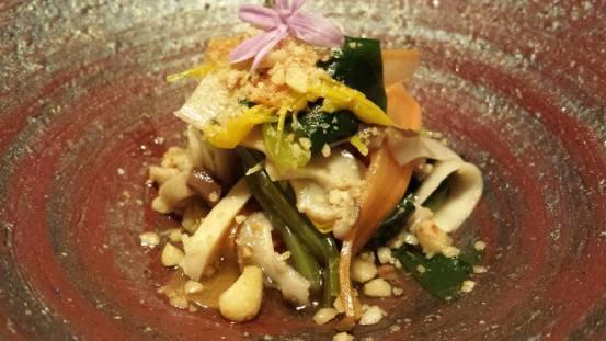matsutake (pine mushrooms) otoshi