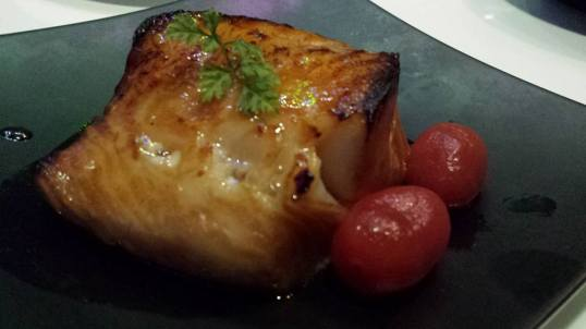 #5 oven baked chilean seabass with lemon grass