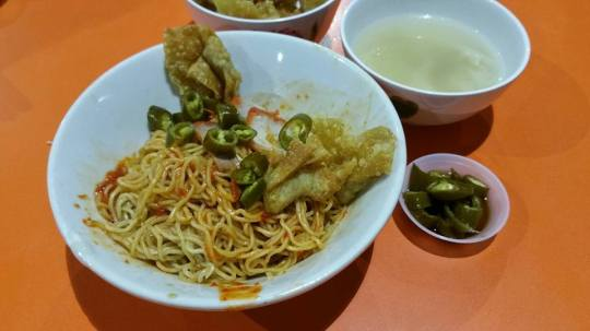 S$3 pontain wanton noodles