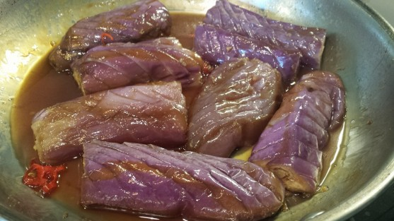 wafu 和风 (japanese braised) eggplants