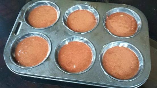 choc lava cake x 6 (muffin trady)