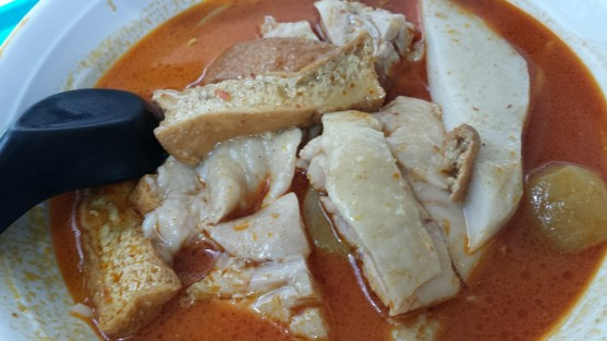 ah heng curry chicken noodles S$6.50