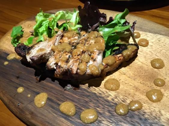 grilled kurobuta - S$35