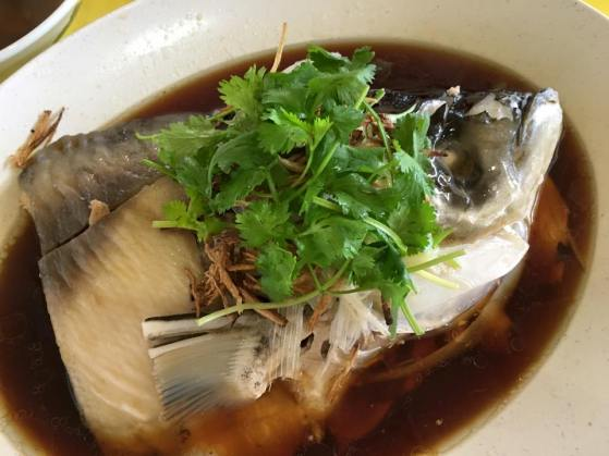 song fish head hk steamed 港蒸松鱼头