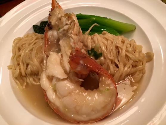 lobster noodles - S$22