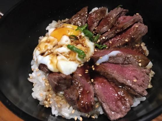 onsen egg wagyu don - S$35