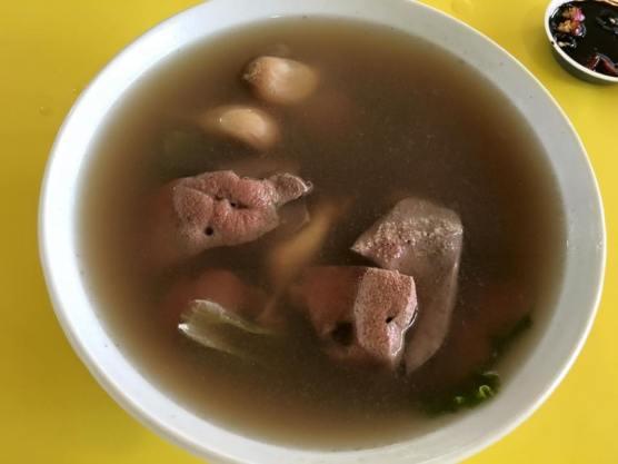 pig liver kidney soup