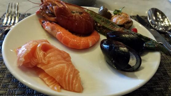 sashimi, cold appetiser & salad