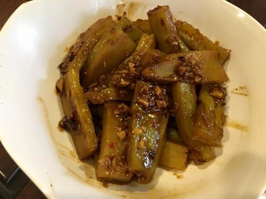spicy black beans bittergourd