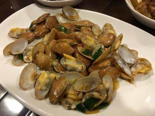 stir-fry manila clams 16.10.2015(3)