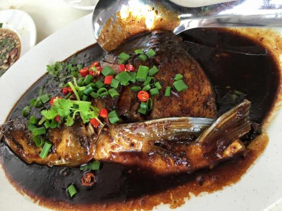 black bean sauce song fish head2