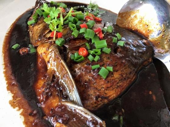 black bean sauce song fish head3