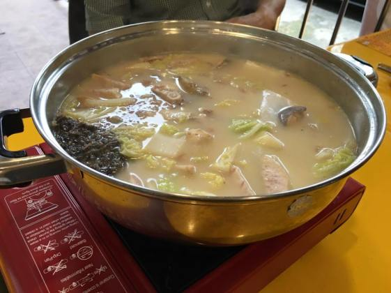 fish head steamboat 鱼头卢