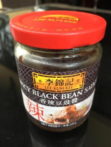 lee kum kee spicy black bean sauce