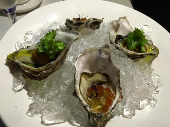 fin de claire & some pacific oysters
