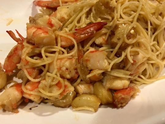 prawn capellini