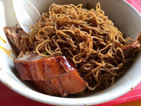 S$7 roast duck noodles