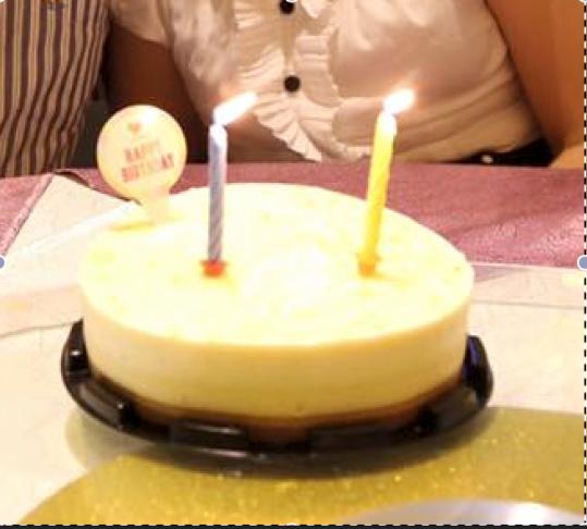 nice yuzu cheese cake