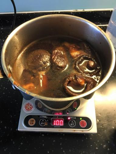 slow braising 1.5hrs