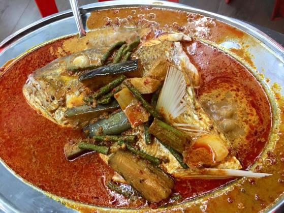 thai style fish head - S$25