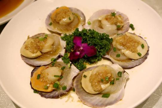 #5 (the best) steamed scallops