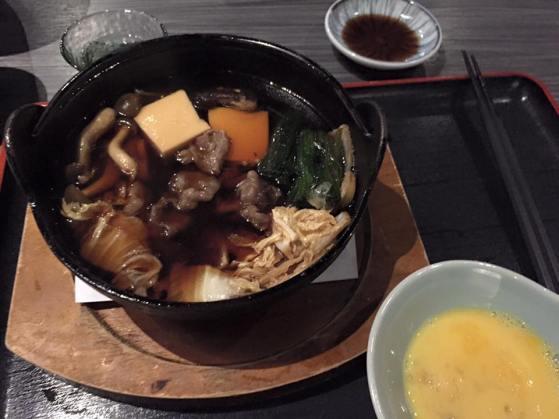 A5 saga wagyu sukiyaki