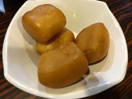 deep-fried mantous 馒头
