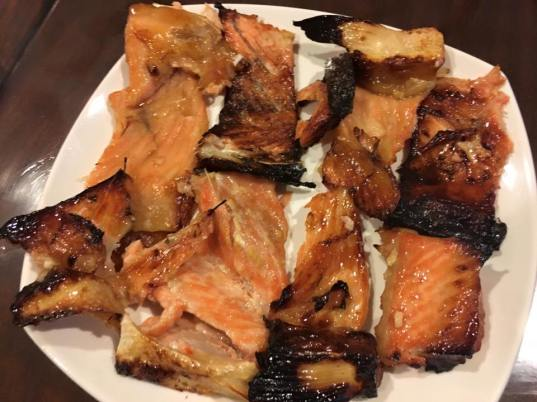 miso salmon belly