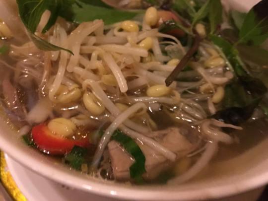 pho bo - vietnamese beef noodles