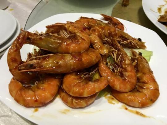 spicy prawns