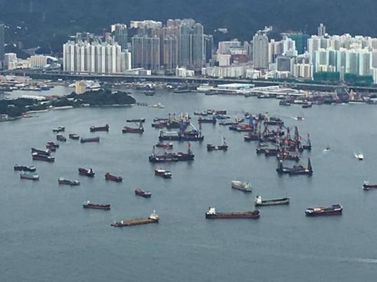 anchorage, tsing yi bridge