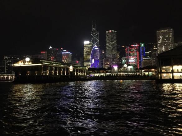 central night scene