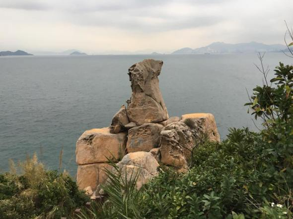 花瓶石at mini greatwall