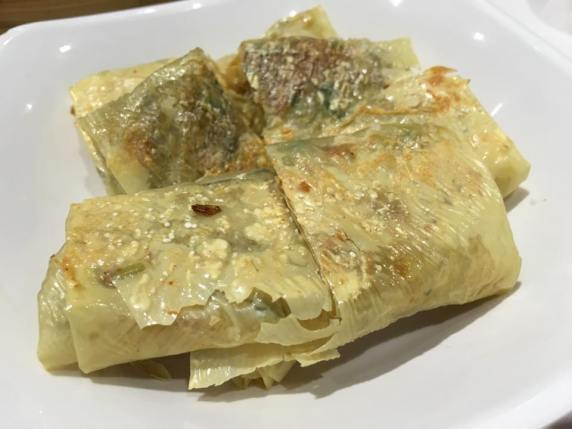 fried fupeiquin炸腐皮卷