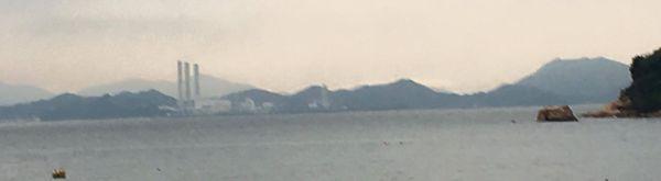 horizon from cheung chau island