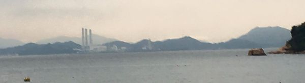 horizon from cheung chau island