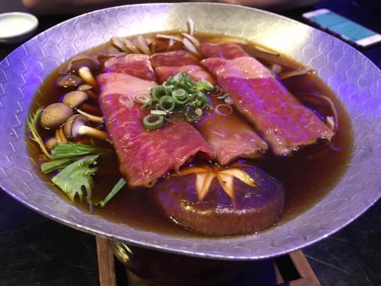 kagoshima wagyu sukiyaki konabe