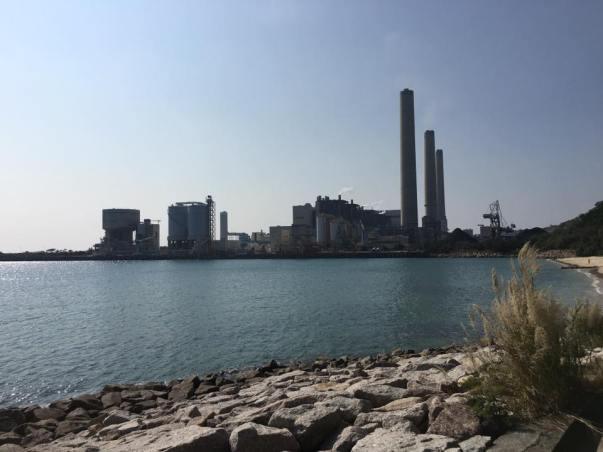 lamma power station南丫岛发电厂