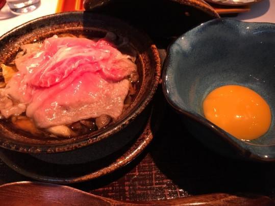 ohmi 近江wagyu sukiyaki (for wagyu omakase)